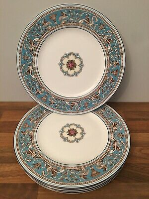 Wedgewood Florentine Dinner Plates X 6 Perfect 10.5 Inches Wide • 115£