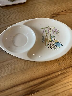 Beswick Green Fingers Cup Plate • 0.99£