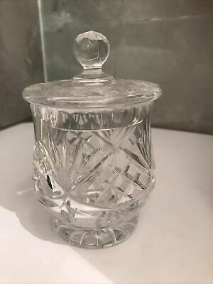 Crystal Sugar/jam/ Lidded Pot  • 8.99£