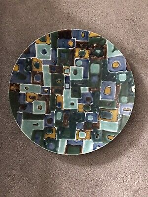 Poole Pottery Charger (Artists Piece)  • 90£