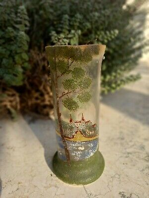 French Glass Vase In Style Of Legras? Vintage Or Antique  • 50£
