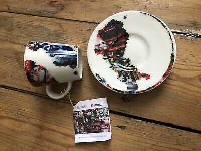 Rare Helsinki Design 2012 Iittala Coffee Cup And Saucer NEW • 9.99£