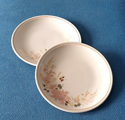 Boots *hedge Rose* Two 10.25  Dinner Plates   #excellent Used Condition# • 14.95£