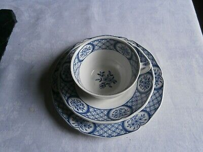 OLD CHELSEA 'FURNWALS' CHINA 'TRIO' Reg. No. 647812 • 4.49£