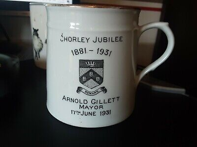 Chorley Jubilee 1881 - 1931 Arnold Gillet Mayor Cup 17 Th June • 6.99£