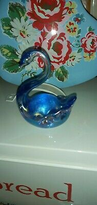 Iridescent SWAN By HERON GLASS In BLUE  • 6.49£