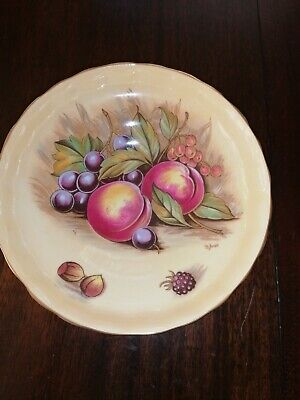 Aynsley Orchard Gold Footed Fruit Bowl • 10£