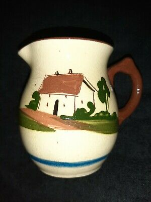 Torquay Pottery Motto Ware  A Friend In Need Is A Friend Indeed  11cm Jug  • 15£