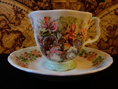 Brambly Hedge  Cup And Saucer Summer Royal Doulton. Excellent Condition  • 14.99£