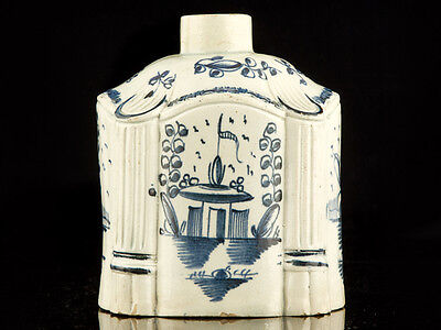 C1780 English Pearl Creamware Chinese Style Tea Caddy • 395£