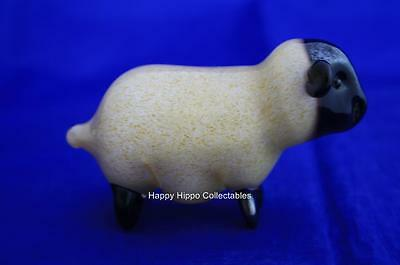 Langham Glass Hand-made Small Sheep Standing - New / Boxed • 47.95£
