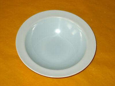 BRANKSOME LIGHT BLUE&CREAM BOWLS Dia 6.25  Used,  (0.2/180) • 12.50£