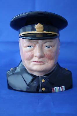 Bairstow Manor Carlton Ware Winston Churchill Character Jug  - New • 62.95£