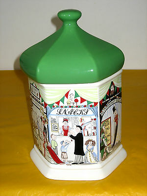 RETRO WADE GOOSE FAIR LARGE BUSCUIT JAR/BARREL Small Flaw In Pottery (1.9/448) • 22.50£