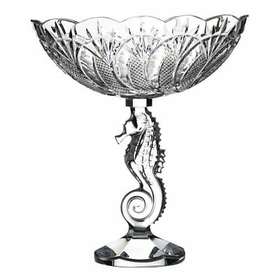 Waterford Crystal Seahorse Centrepiece Bowl 25cm • 500£