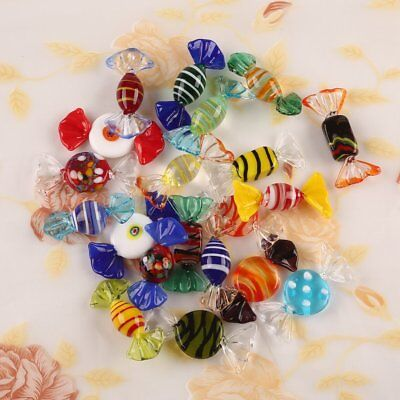 20pcs Vintage Murano Glass Sweets Wedding Xmas Party Candy Decorations Gift UK • 10.68£