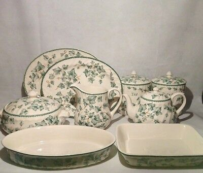 Vintage BHS British Home Stores Country Vine Pottery - Common + Rare Items • 8.95£