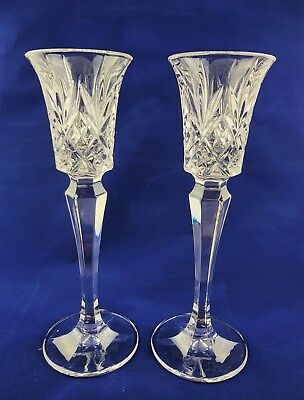 A Pair Of Reproduction Georgian Style Baluster Drinking Glasses • 16.95£