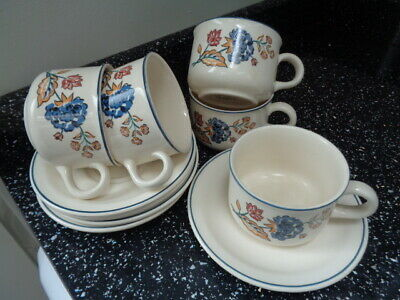 Boots Camargue Cups And Saucers X 5 • 25£