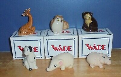 Wade 1999 Pocket Pals Various Boxed And Unboxed Discount Postage For Multiple • 2£