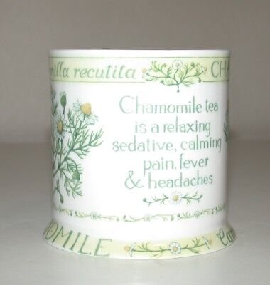 Queens  Bone China  Mug Chamomile Tea • 6.99£