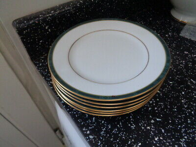 Boots Hanover Green Side Plates X 6 • 24£