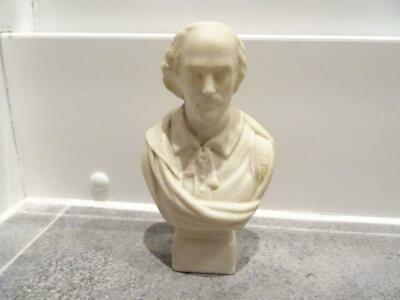 Vintage Goss Parianware Bust Of Shakespeare 5.5  High • 29.95£