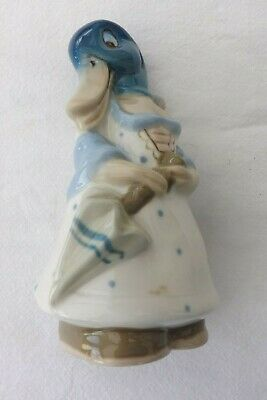 Royal Dux Bohemian Porcelain China Study A Duck Modelled As A Girl 13cms High • 119.99£