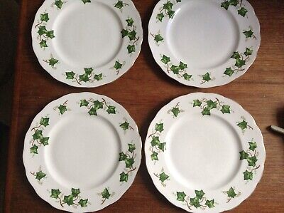 Set Of 4 Colclough Ivy Salad Plates, Ideal For Christmas. • 12£
