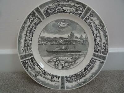Wedgwood 1959 St Lawrence Seaway Commemorative Plate • 9.95£