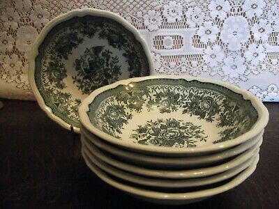 Villeroy & Boch FASAN ( Pheasant ) GREEN - Set Of 6 Cereal Bowls  • 18£
