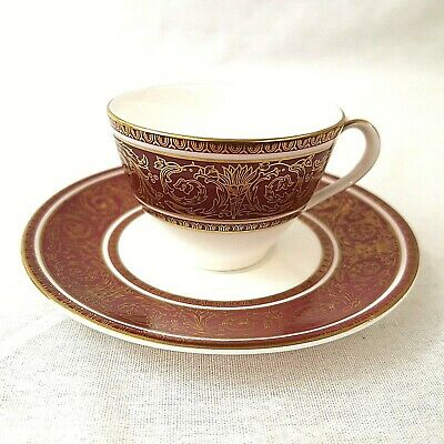 Royal Doulton Buckingham Demitasse Coffee Cup And Saucer H4971 First Quality • 15£