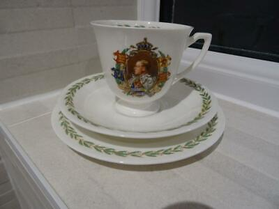 Royal Doulton Edward VIII Coronation Trio • 29.95£