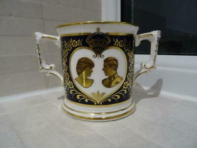 Royal Crown Derby L/E Loving Cup 1981 Marriage Of Charles & Diana • 12.95£
