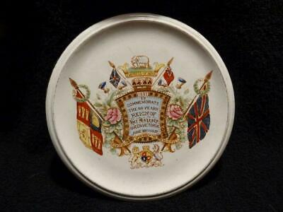 Queen Victoria Diamond Jubilee Teapot Stand By William Lowe Of Longton • 34.95£