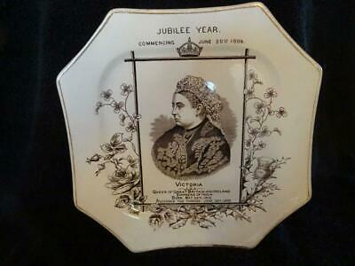 Queen Victoria Golden Jubilee Plate - Jubilee Year Commencing June 20th 1886 • 19.95£