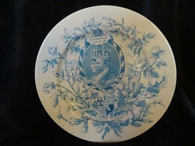 Royal Worcester George V Coronation Plate 1911 - Excellent • 14.95£
