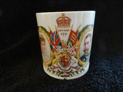Fine Harrods Mug For The 1911 Coronation - George V & Mary • 9.95£