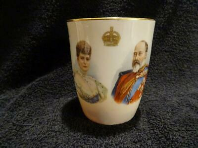 Stunning Royal Doulton Beaker For The 1902 Coronation - Edward VII • 19.95£
