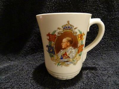 Royal Doulton Mug For The 1937 Coronation - Edward VIII - Art Deco Handle • 9.95£