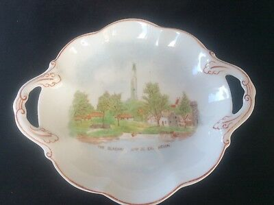 Glasgow Scottish 1938 Empire Exhibition WH GOSS 2 Handled Dish Bowl The Clachan • 24.99£