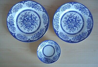 Vintage English Ironstone Kew Gardens Plates And Bowls Sold Individually • 4.99£
