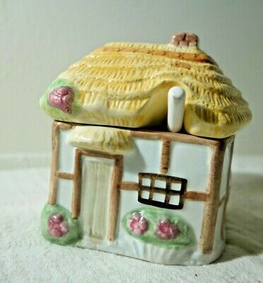 Preserve Pot - Thatched Country Cottage • 15£