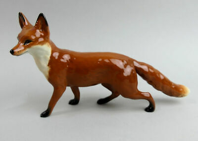 A Lovely Beswick Pottery Large Fox Standing #1016a 1945-97 • 55£