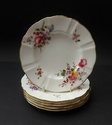 Six Bone China Royal Crown Derby 'derby Posies' Side Plates • 15.29£