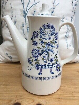 Turi-Design Lotte Made In Norway Handpainted Coffee Pot In Excellent Condition • 34.99£