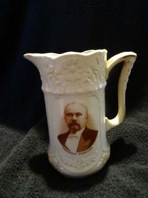 Vintage President Poincare Water Jug With Portrait Image • 24.95£