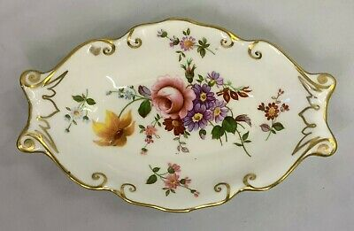 UNUSED Royal Crown Derby Derby Posies English Bone China 5.5  Oval Dish • 6.99£