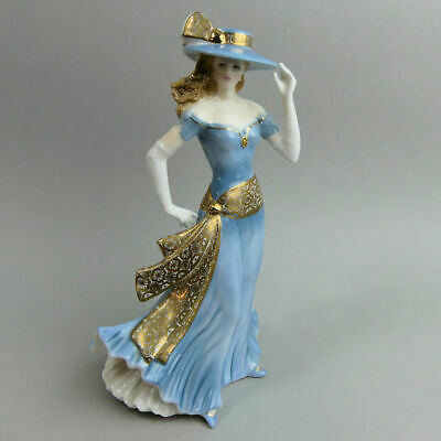 Fine Royal Worcester 'tea At The Ritz' High Society Figurine C.1997 • 70£