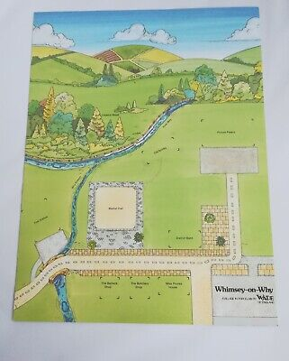 Wade Whimsey-on-why Display Card Map -  Set 4 • 10£